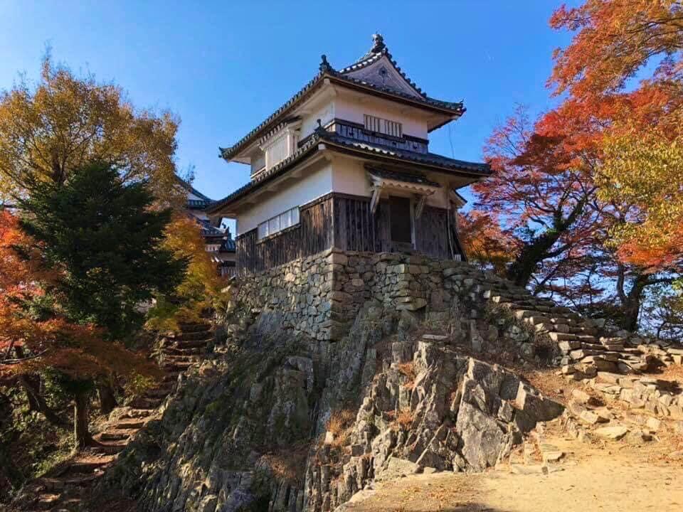 備中松山城二重櫓:本荘良智
