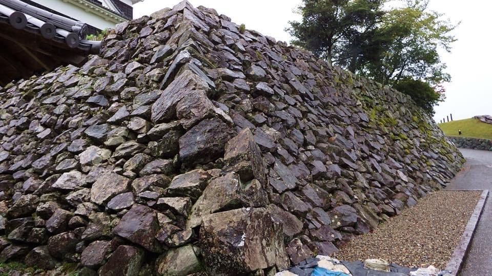 大洲城の石垣