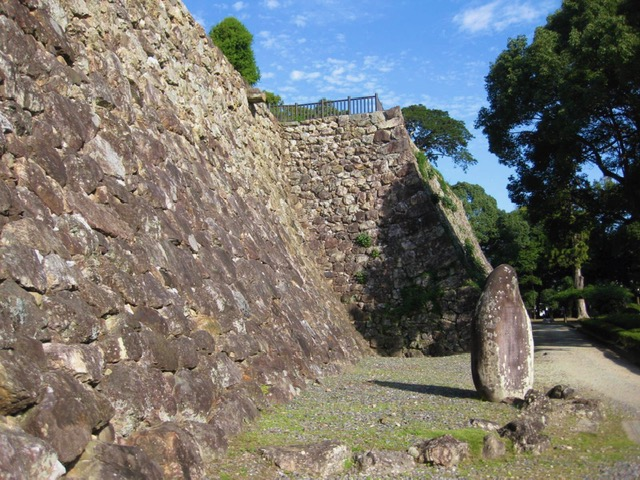 三ノ丸の高石垣